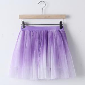 Gradient Skirts #8989AD