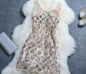 Stylish Beaded Sequi..