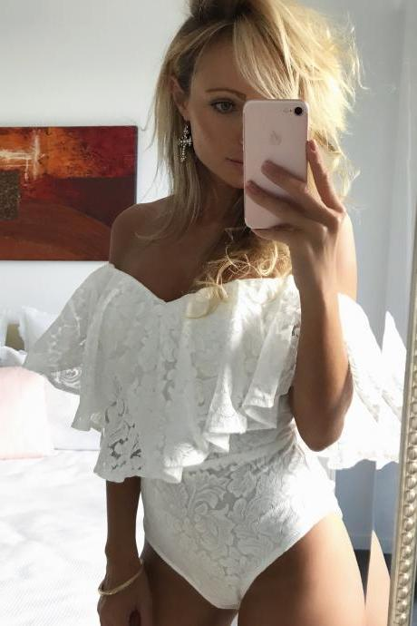 Sexy Lace Jumpsuits Top