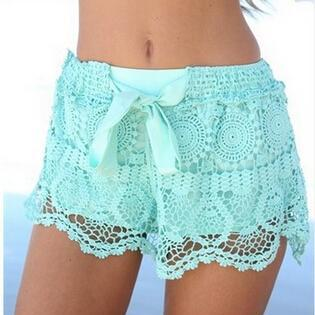 Fashion Lace Shorts #092730AD